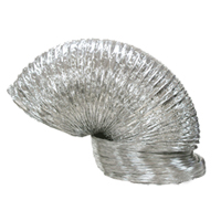 Therma-Stor 4024750 Foil Mylar Wire Reinforced 12 inch by 25 ft ducting