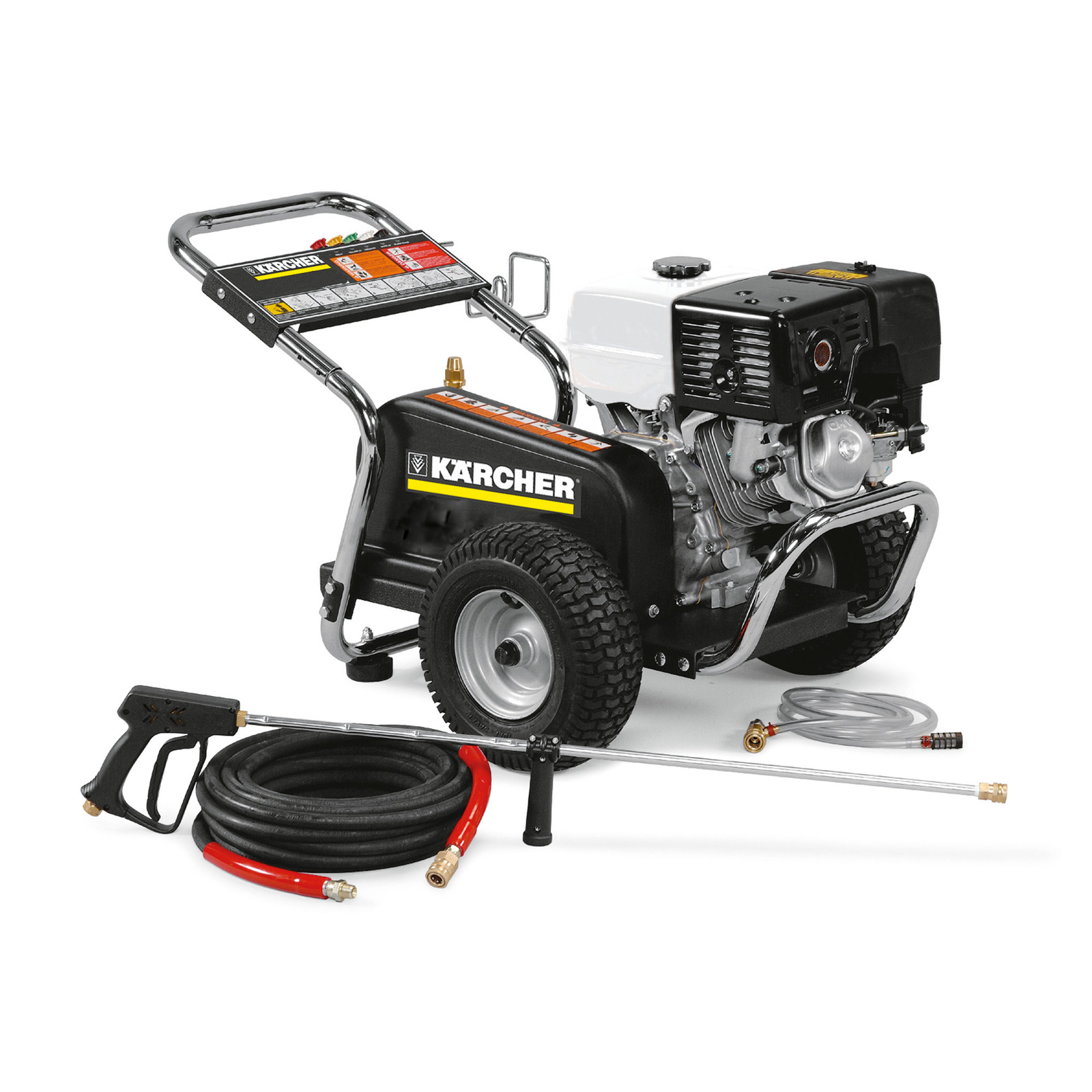 Karcher HD 3.7/35 PB 1.575-154.0 Honda Shark Cold Water Gas Pressure Washer 3.7GPM 3500PSI 13HP 1.107-145.0 BG-373537