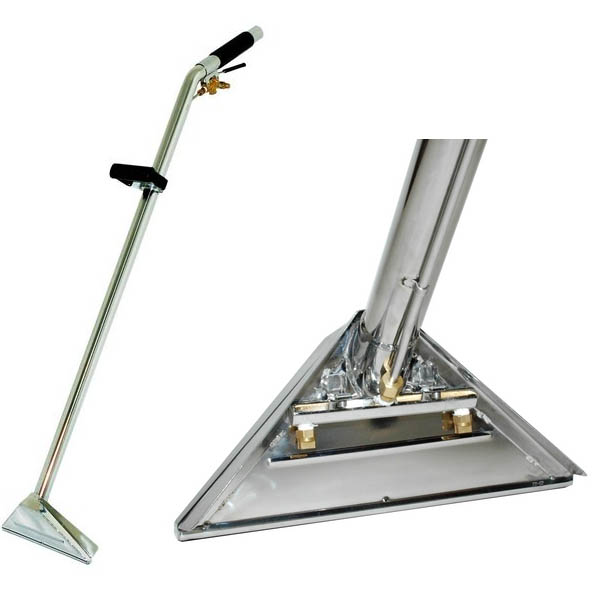 """Carpet Cleaning Wand Standard Profile 12/"""" SBend AW29 style 2-Jet 1.5/"""" Truck/&Port"""