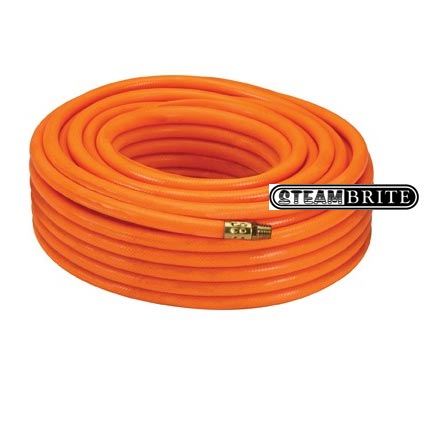 Air Hose 3/8 ID X 100 ft 300 psi Blue or Orange 1/4in Mip ends  8.704-781.0 [87047810]