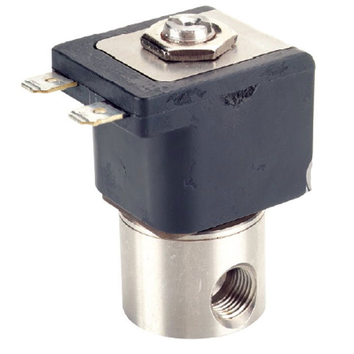 High Pressure Solenoid Valve 1000psi 1/8 Fip Connections 12 Volts DC 99413069