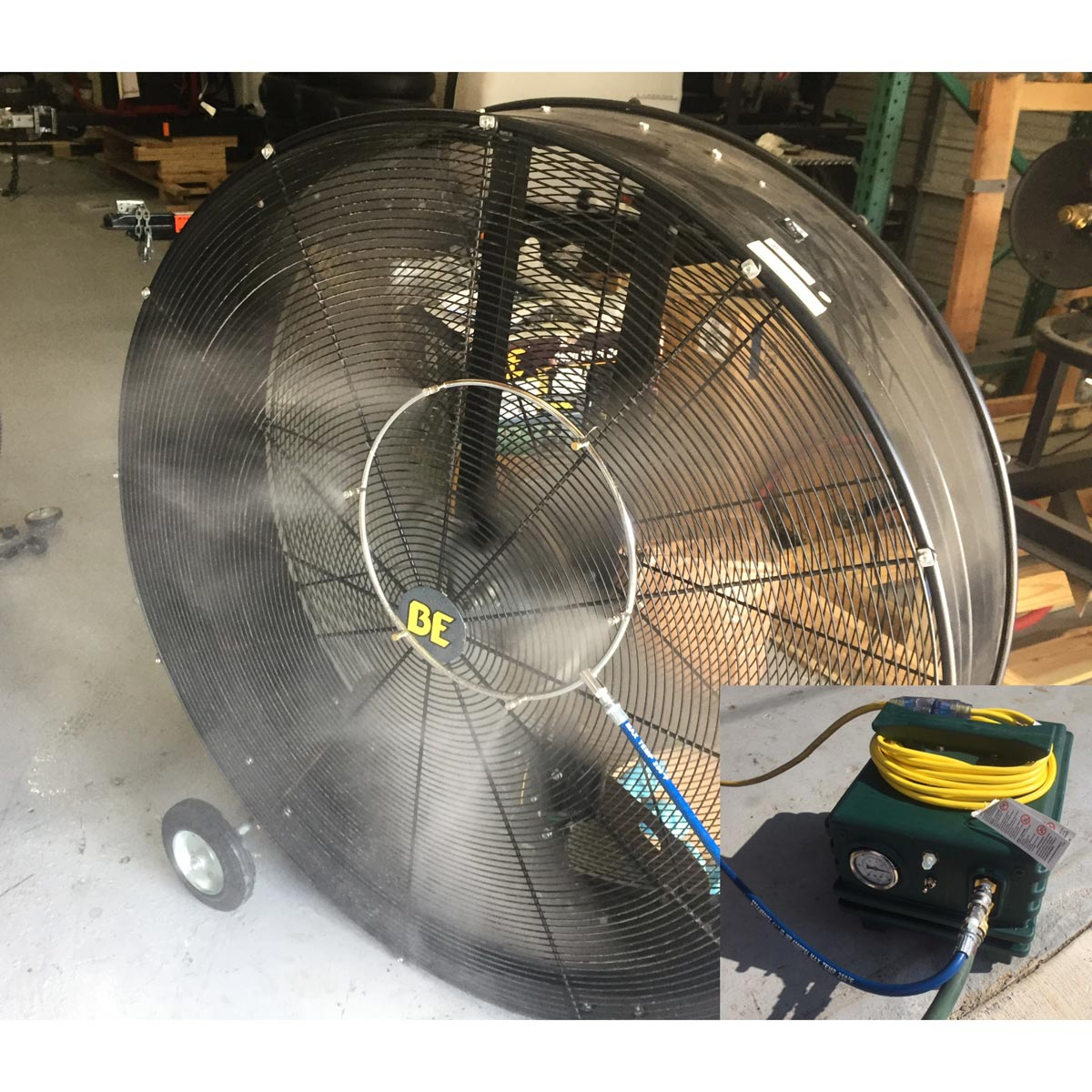 -Mist Storm 1000 psi 6 Nozzle Portable High Pressure Misting System - Fan Not Included 20180811