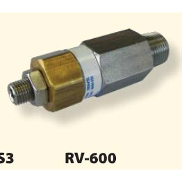 Pressure Pro 8000psi Pressure Relief Safety Pop Off Valve 3/8 Mip RV-600