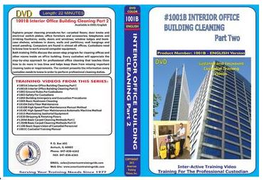 American Training Videos Custodial Series 1001B Interior Office Building Cleaning Part II