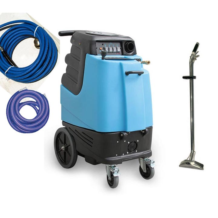 Mytee 1001DX-200 P 12gal 200psi HEATED Speedster Dual 3 Stage Carpet Cleaning Machine Starter Package