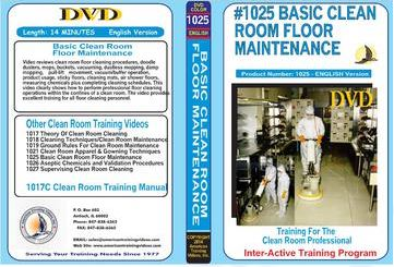 American Training Videos Clean Room Series 1025 Basic Clean Room Floor Maintenance