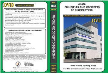 American Training Videos Hospital Series 1050 Principles and Concepts of Disinfecting