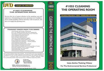 American Training Videos Hospital Series 1055 Cleaning the Operating Room
