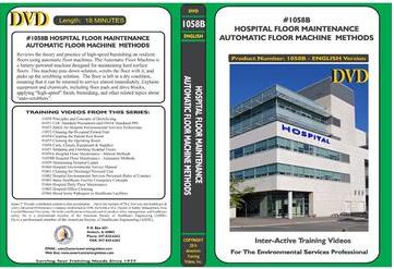 American Training Videos Hospital Series 1058B Hospital Floor Maintenance-Automatic Methods