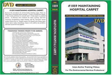 American Training Videos Hospital Series 1059 Maintaining Hospital Carpet