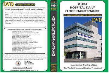 American Training Videos Hospital Series 1064 Hospital Daily Floor Maintenance