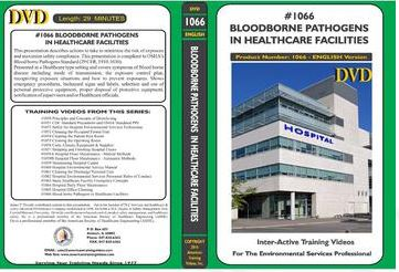 American Training Videos Hospital Series 1066 Blood borne Pathogens in Healthcare Facilities