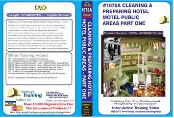 American Training Videos Hospitality Series 1075A Hotel/Motel Public Area Cleaning Part 1