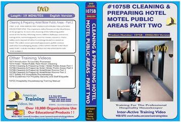 American Training Videos Hospitality Series 1075B Hotel/Motel Public Area Cleaning Part 2