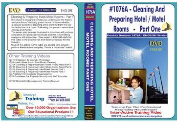 American Training Videos Hospitality Series 1076A Hotel/Motel Room Cleaning and Preparing Part 1