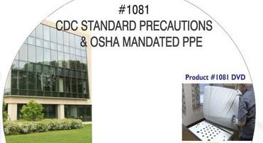American Training Videos Healthcare Series 1081 CDC Standard Precautions And OSHA Mandated PPE