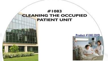 American Training Videos Healthcare Series 1083 Cleaning The Occupied Patient Unit