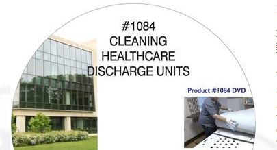 American Training Videos Healthcare Series 1084 Cleaning Healthcare Discharge Units