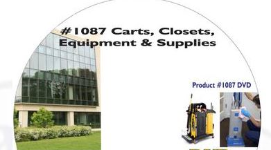 American Training Videos Healthcare Series 1087 Carts Closets Equipment and Supplies
