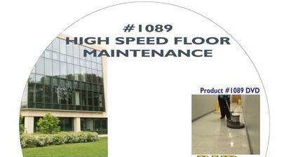 American Training Videos Healthcare Series 1089 High Speed Floor Maintenance