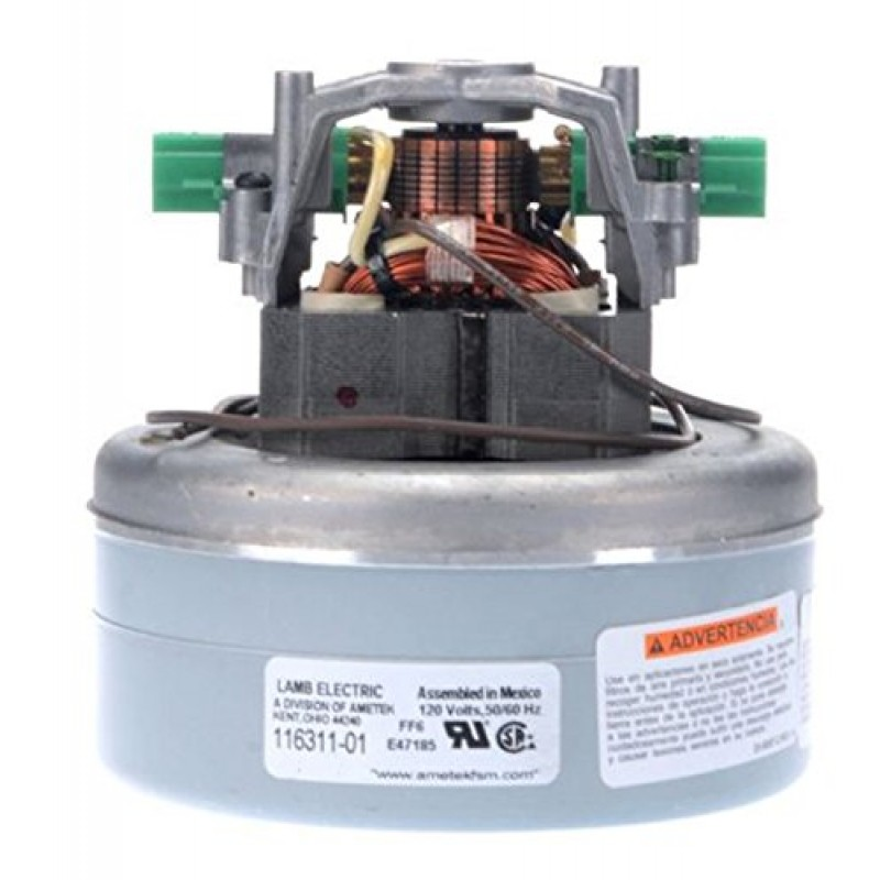 Ametek Lamb 116311-01 Vacuum Motor 2 STG 5.7in BP PD BB 120V Online Sale 8.663-478.0