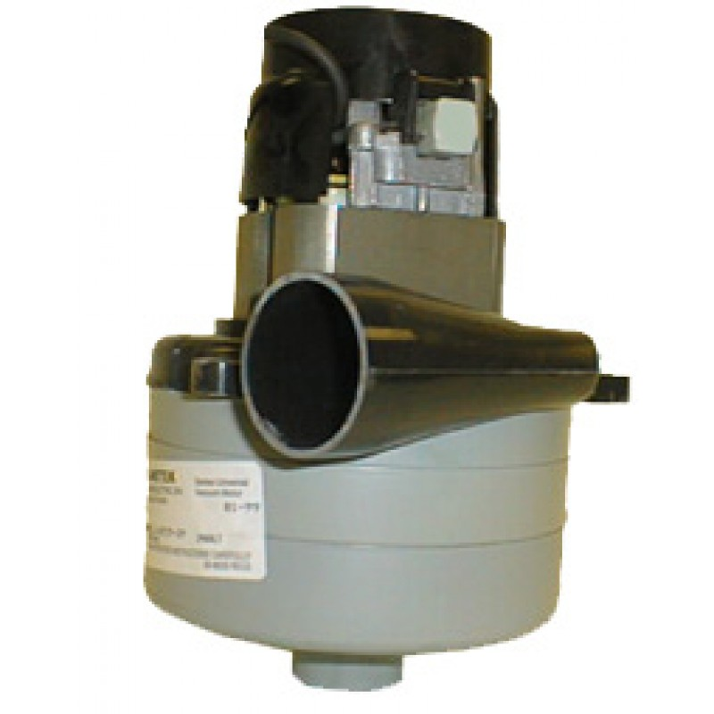 Ametek Lamb 116515-24 Vac Motor 24V with Inlet Tube 5.7in Diameter Tangental Discharge (8.685-478.0)
