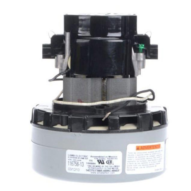 Ametek Lamb 116758-13 Vacuum Motor 120v By-Pass Design 2 Stage 5.7in dia. (8.663-476.0)