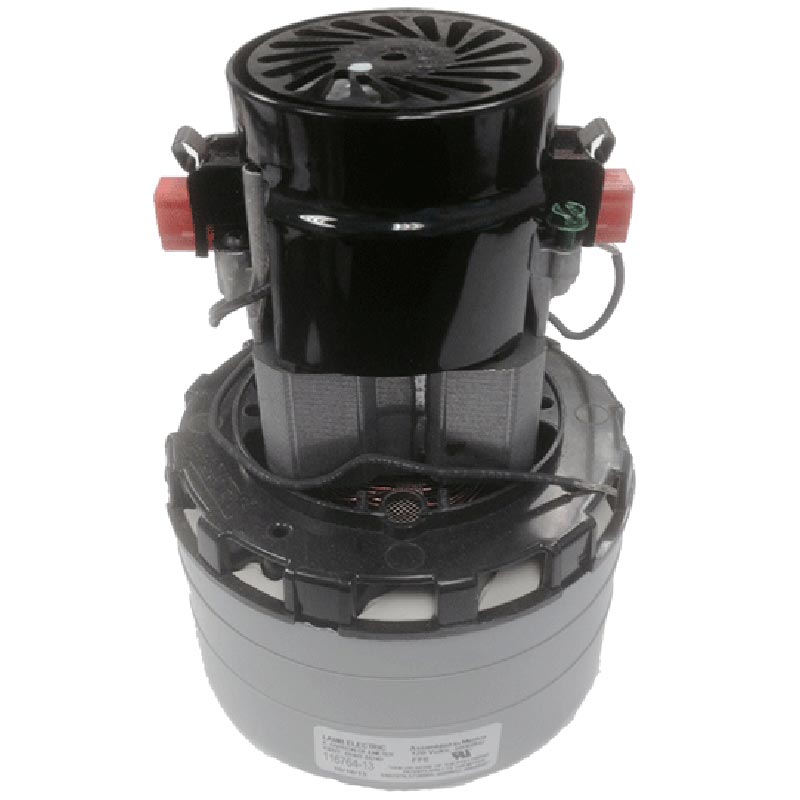 Ametek Lamb 116764-13 Vacuum Motor 120V By-Pass Design 3 Stage, 5.7in dia. (8.685-476.0)