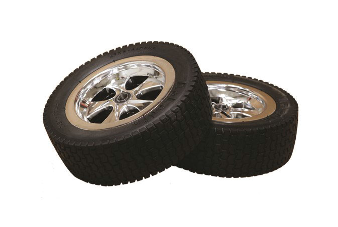 Steel Eagle 12-152100 Anti-Flat Tires with Mag Wheels