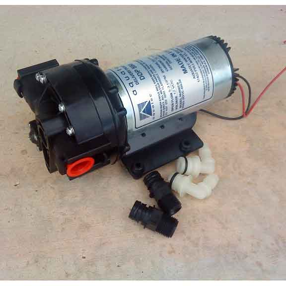 Aquatec 12 Volt 3.5 Gpm 90 psi Water Transfer pump Heavy Duty 18 amp 5503-2HM1-M638 RGH