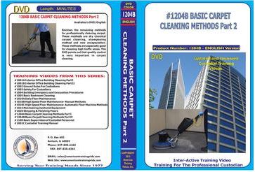 American Training Videos Custodial Series 1204B Basic Carpet Cleaning Methods Part 2