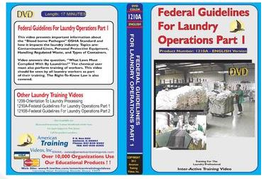 American Training Videos Laundry Series 1210A Federal Guidelines/Laundry Ops Part 1