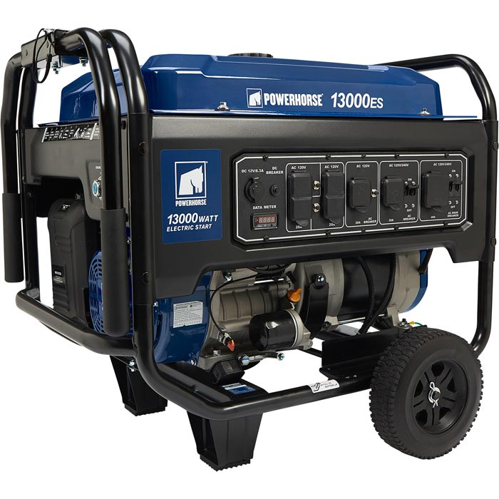 Powerhorse 799215 Portable Generator 13000 Surge Watts 10000 Rated Electric Start, EPA Compliant 622cc