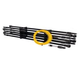 IPC Eagle 53 ft Package Quick Lock Carbon Fiber Sectional Poles FREE Shipping BD500555