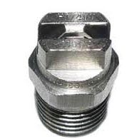 VeeJet 15045 Stainless Steel Nozzle, #4.5x15 1/8 in Meg - 8.707-554.0 Surface Spinner Jet