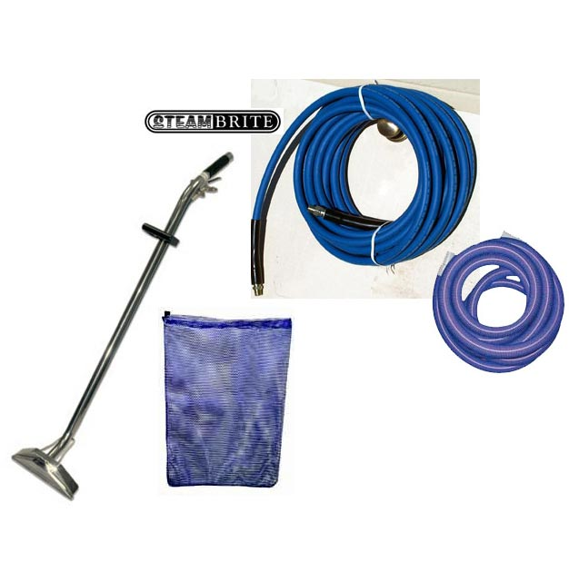 Carpet Cleaning Wand and Hose Set with Bag High Pressure 152-01 Sapphire 48-075  [9.840-637.0] CH08302