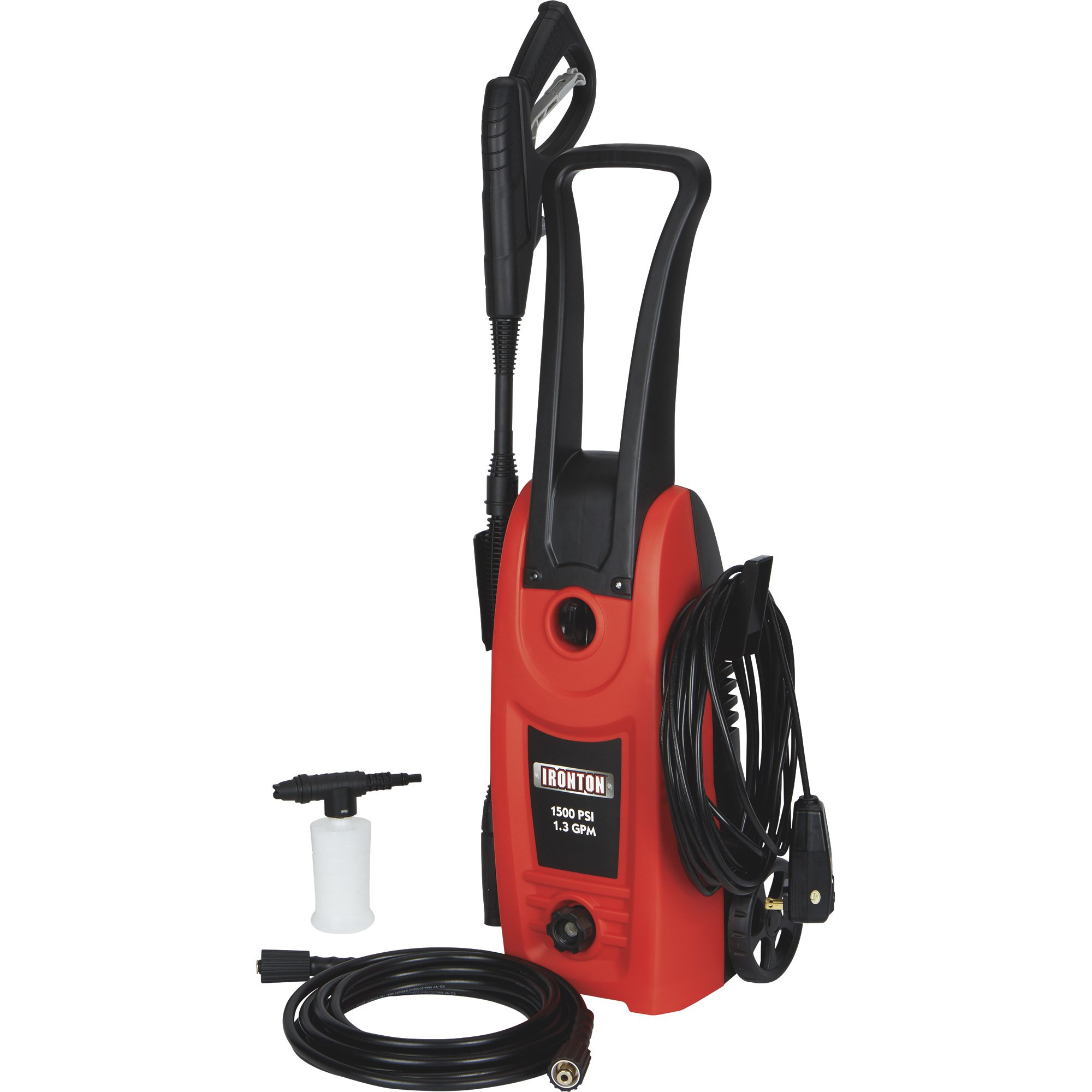 Ironton 157050 Electric Pressure Washer - 1.3 GPM, 1500 PSI