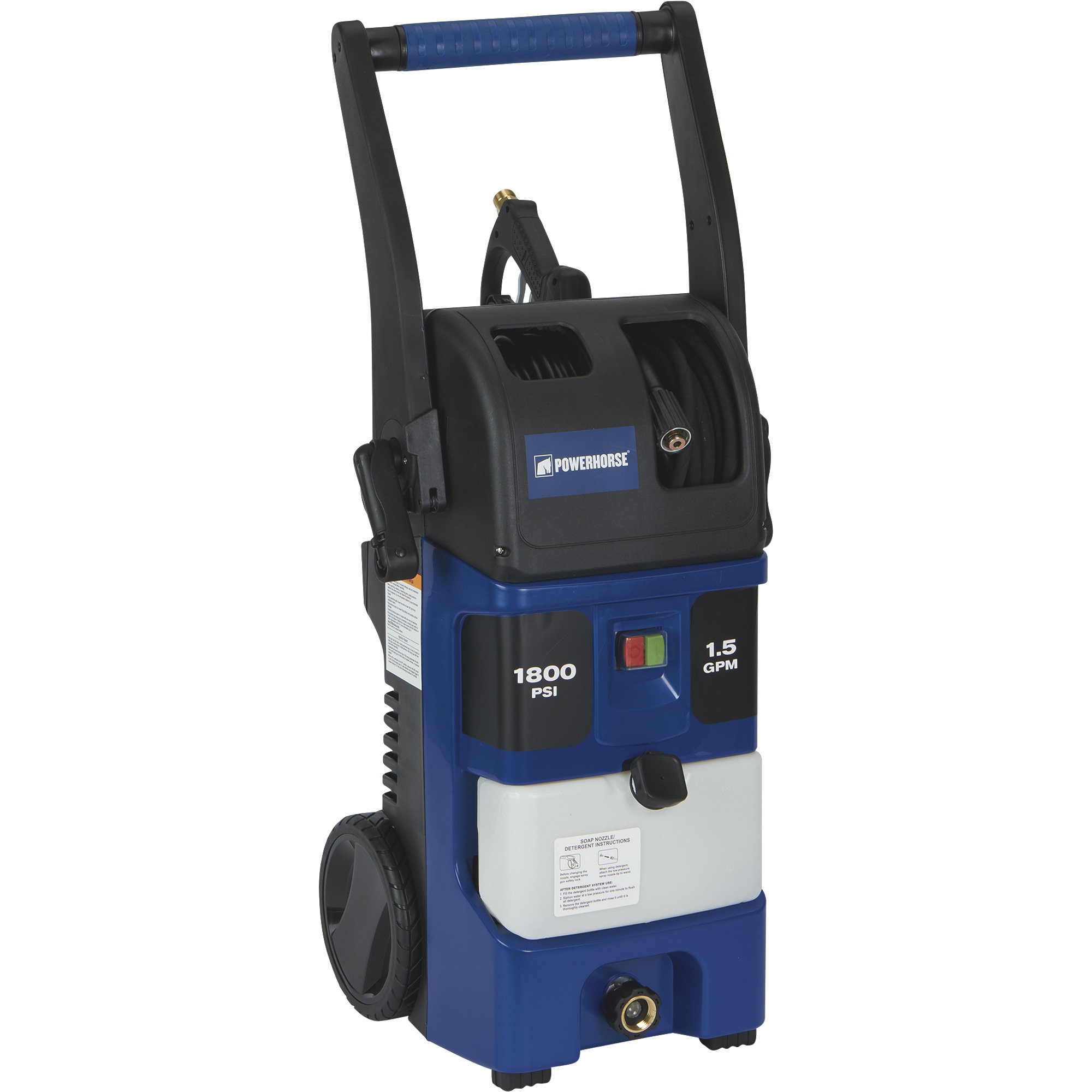 Powerhorse 157055 Electric Pressure Washer - 1.5 GPM, 1800 PSI