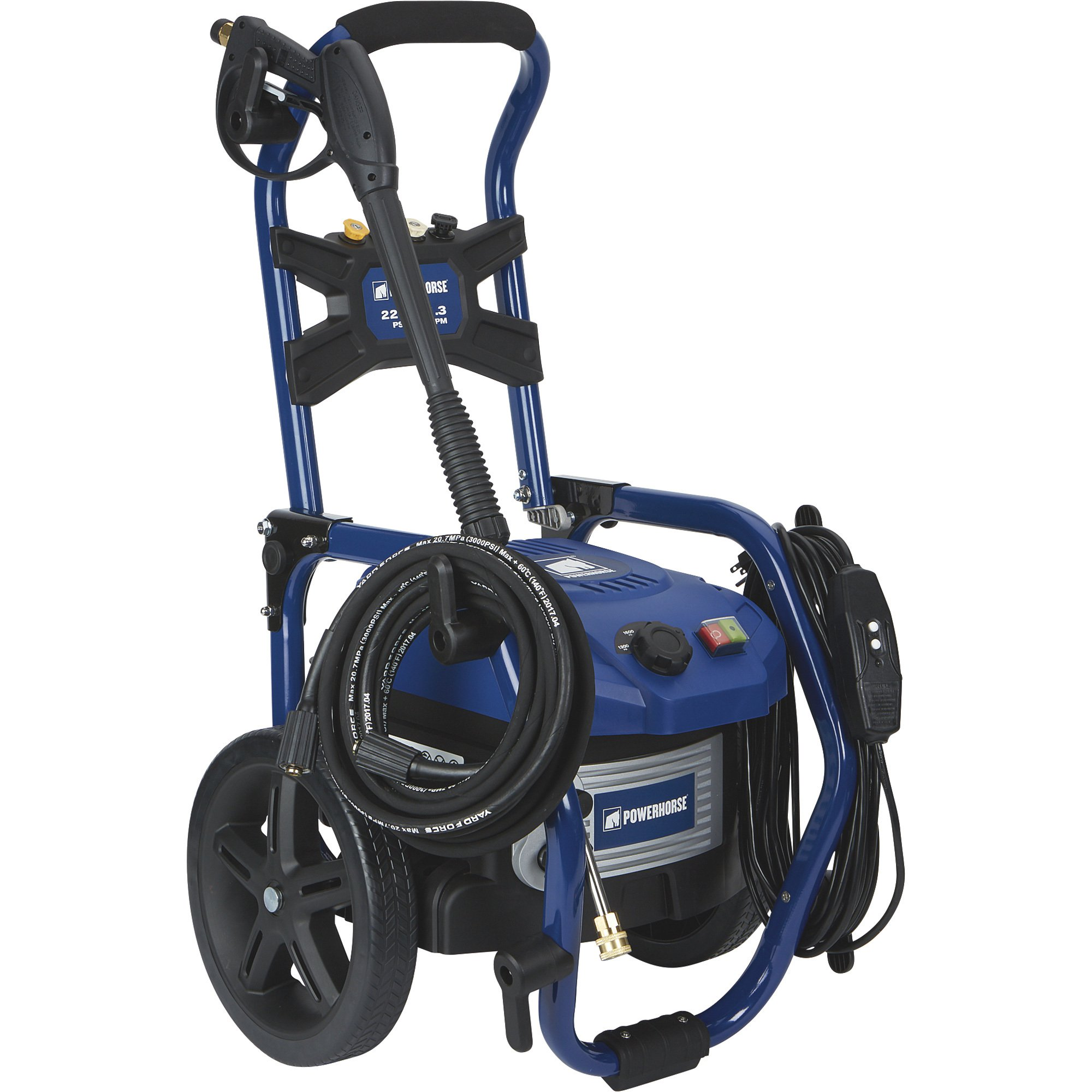 Powerhorse 157065 Brushless Electric Pressure Washer - 1.3 GPM, 2200 PSI