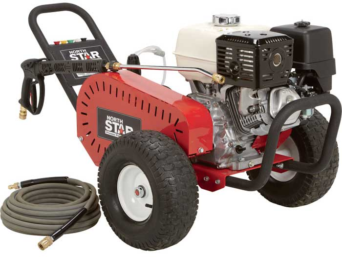 NorthStar 1572041 Gas Cold Water Pressure Washer 4000 PSI, 3.5 GPM, Honda Engine, Belt Drive Free Shipping