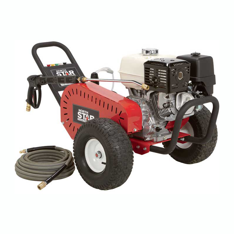 NorthStar 1572041 Gas Cold Water Pressure Washer 4000 PSI 3.5 GPM Honda Engine Belt Drive Fereight Included