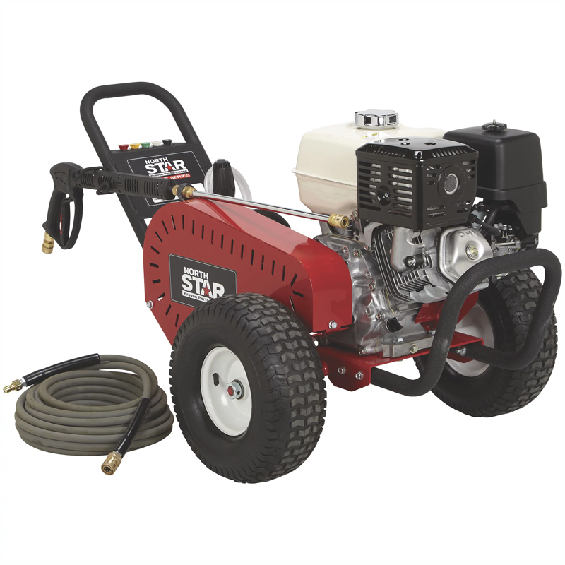 NorthStar 1572042 Super High Flow Gas Cold Water Pressure Washer 5 GPM 3000 PSI Honda Engine Belt Drive Freight Included