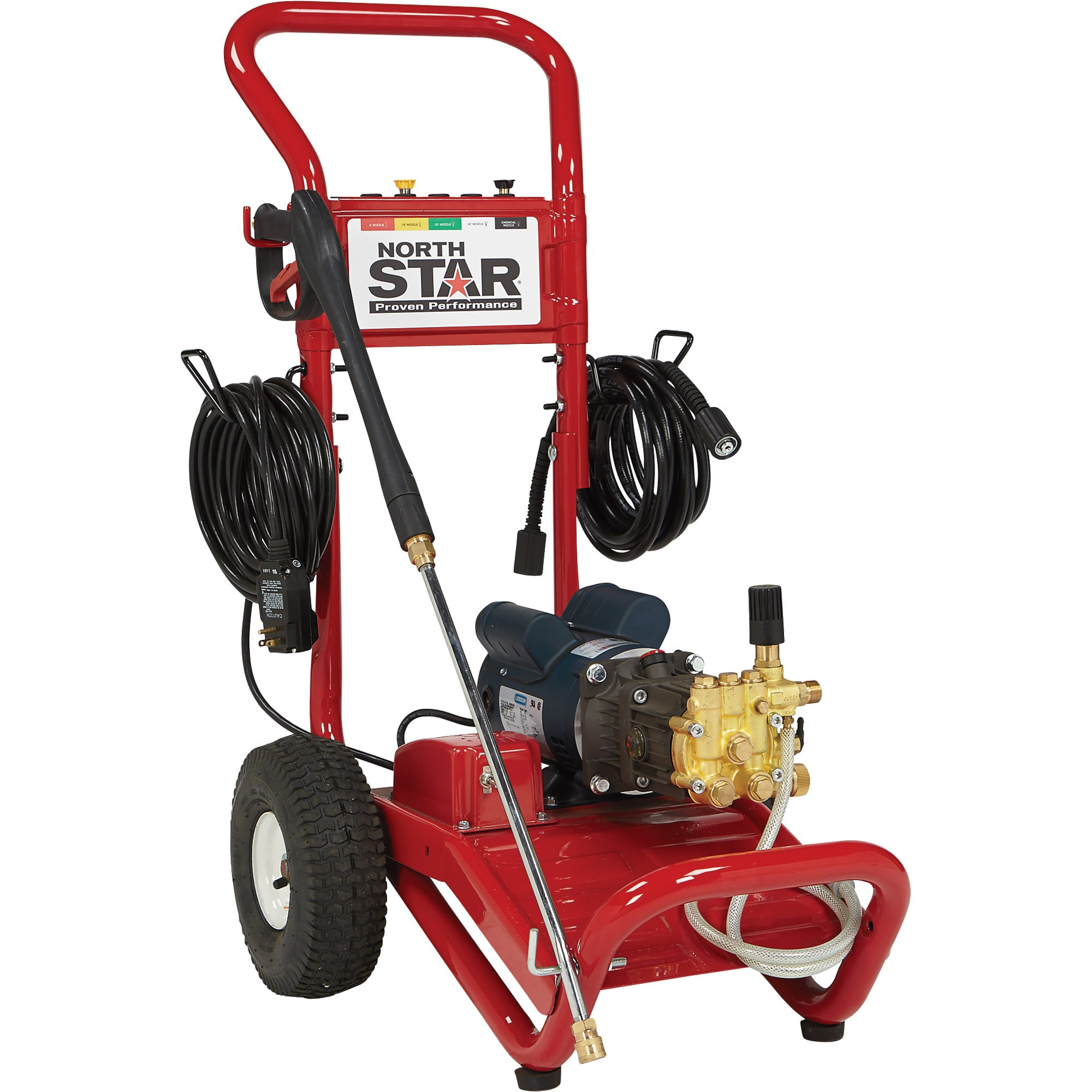 NorthStar 1573001 Electric Cold Water Pressure Washer - 1700 PSI, 1.5 GPM, 120 Volt - FREE SHIPPING