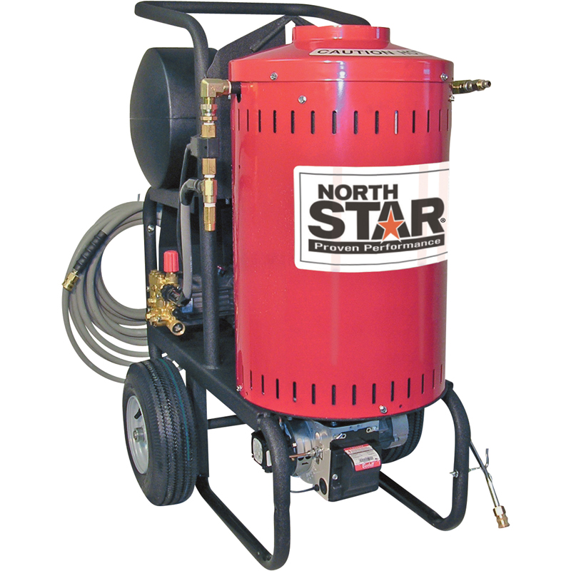 NorthStar 157305 Electric Wet Steam and Hot Water Pressure Washer 1700 PSI 1.5 GPM 120 Volt freight included