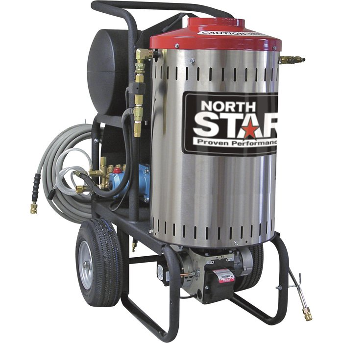NorthStar 157307 Electric Wet Steam & Hot Water Pressure Washer 2000 PSI, 1.5 GPM, 120 Volt FREE Shipping