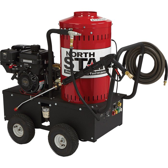 NorthStar 157309: Gas-Powered Wet Steam Hot Water Pressure Washer 6.5 hp 2700 PSI 2.5 GPM FREE shipping