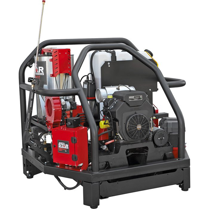 NorthStar 157562 ProShot Hot Water Commercial Pressure Washer Skid — 4000 PSI, 5.5 GPM, Kohler Engine — FREE SHIPPING