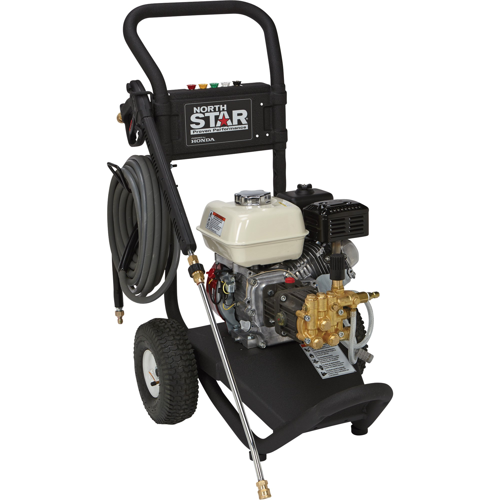 NorthStar 15781120 - Gas Cold Water Pressure Washer - 3,000 PSI, 2.5 GPM, Honda Engine - FREE SHIPPING