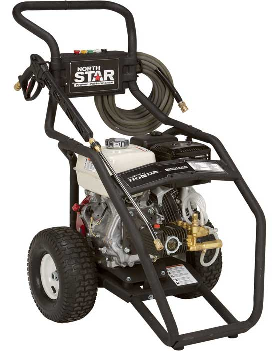 NorthStar Gas Cold Water Pressure Washer — 4000 PSI, 3.5 GPM, Honda Engine [15781520] Free Shipping