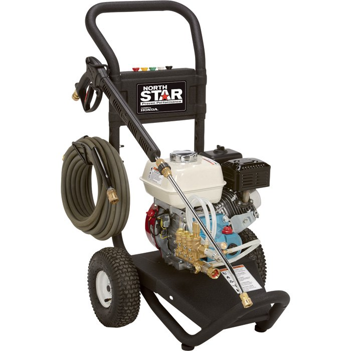 NorthStar 15781720 Gas Cold Water Pressure Washer — 3000 PSI, 2.5 GPM, Honda Engine - FREE SHIPPING